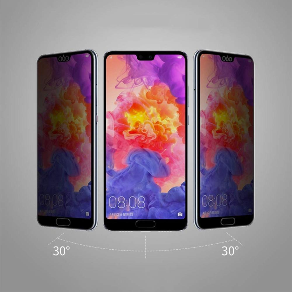 For Huawei P30 P20 Lite Pro Privacy Anti-Spy Tempered Glass Screen Protector 9H Tempered Glass Screen Film for Huawei P10 Plus (11)