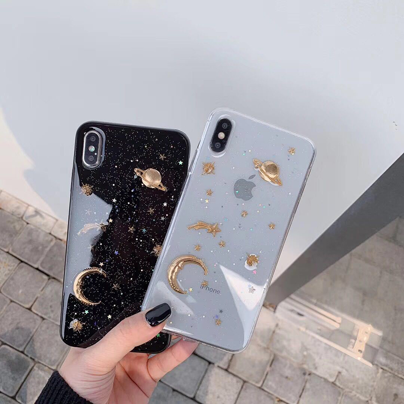 Glitter-Bling-Sterren-Maan-Case-For-iPhone-11-Pro-X-XR-XS-Max-7-8-6 (2)