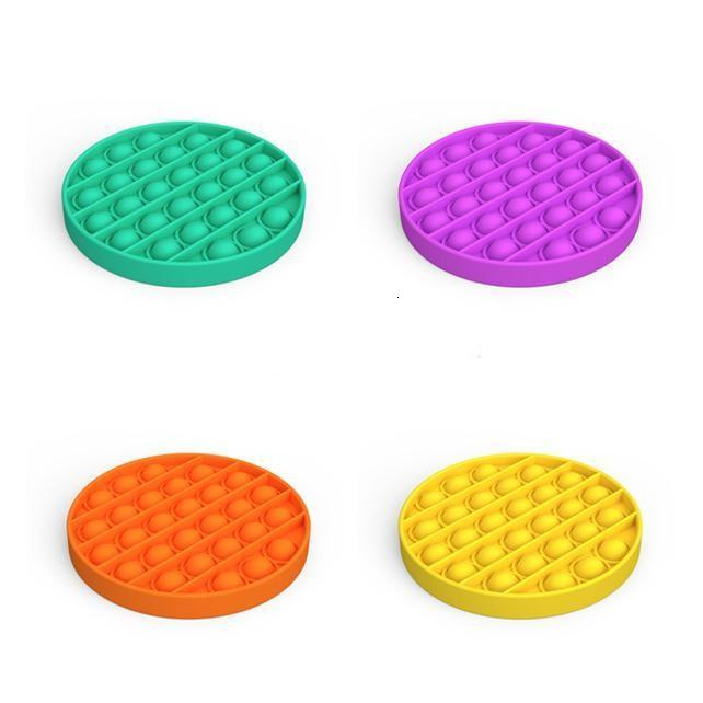 Pop It Fidget Toy Sensory Push Pop Bubble Fidget Sensory Toy Autism Special Needs Anxiety Stress Reliever for Students Office Workers