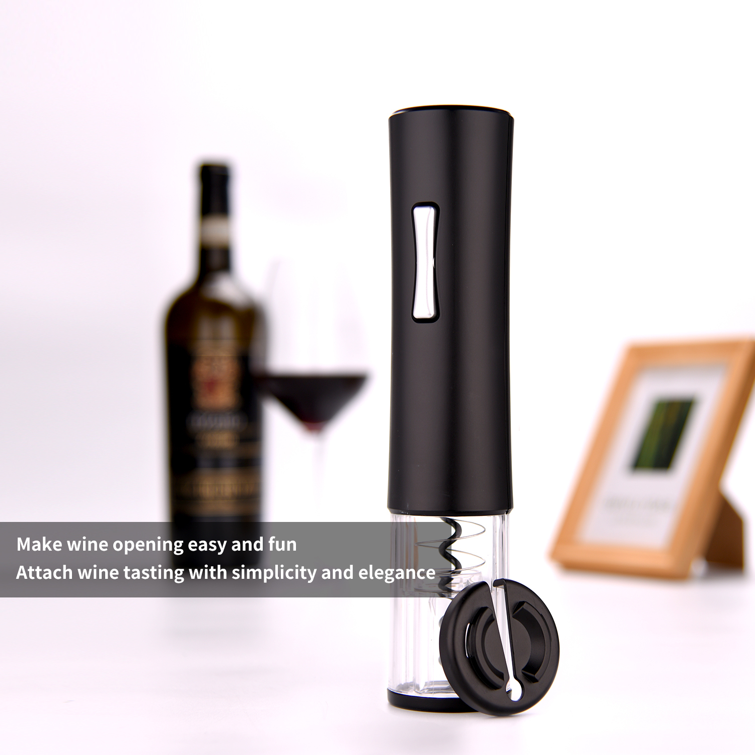 Smallest Electric Corkscrew Wine Opener Stocked Hot-Selling Battery-operated