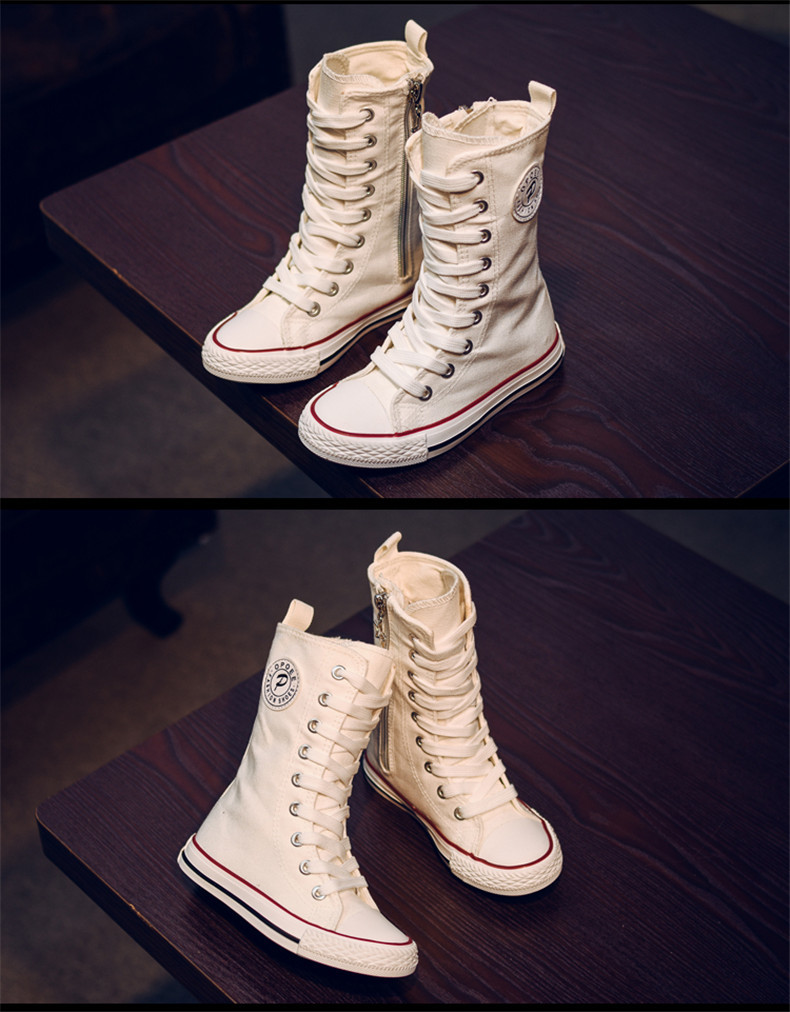 PINSEN 2019 Spring Autumn Shoes Girls Boots Cancas Childen Shoes For Girl Breathable Kids Boots For Girls Fashion Boots (18)
