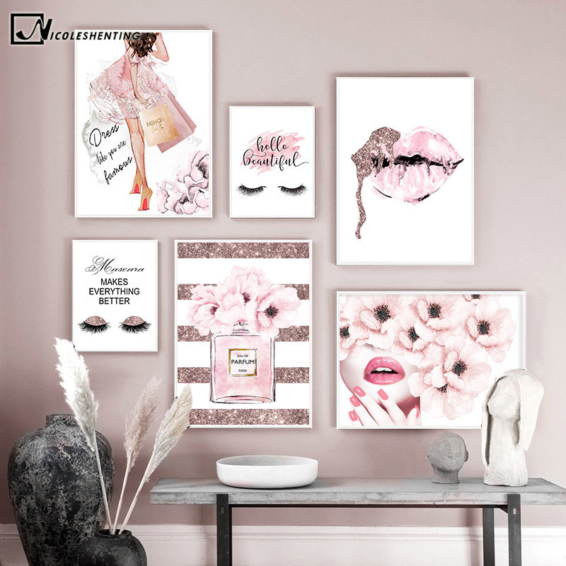 Wholesale Modern Fashion Wall Art Girls Buy Cheap In Bulk From China Suppliers With Coupon Dhgate Com