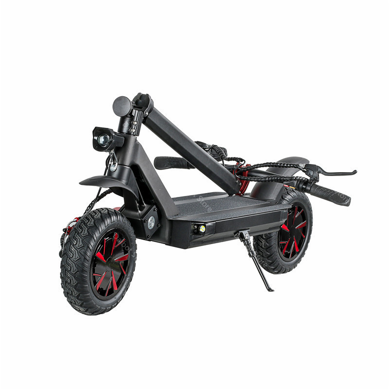 10 Inch Powerful Electric Scooter 3600W 60V Two Wheel Electric Scooters Adults Ecorider E4-9 Folding Electric Scooter Skateboard (48)