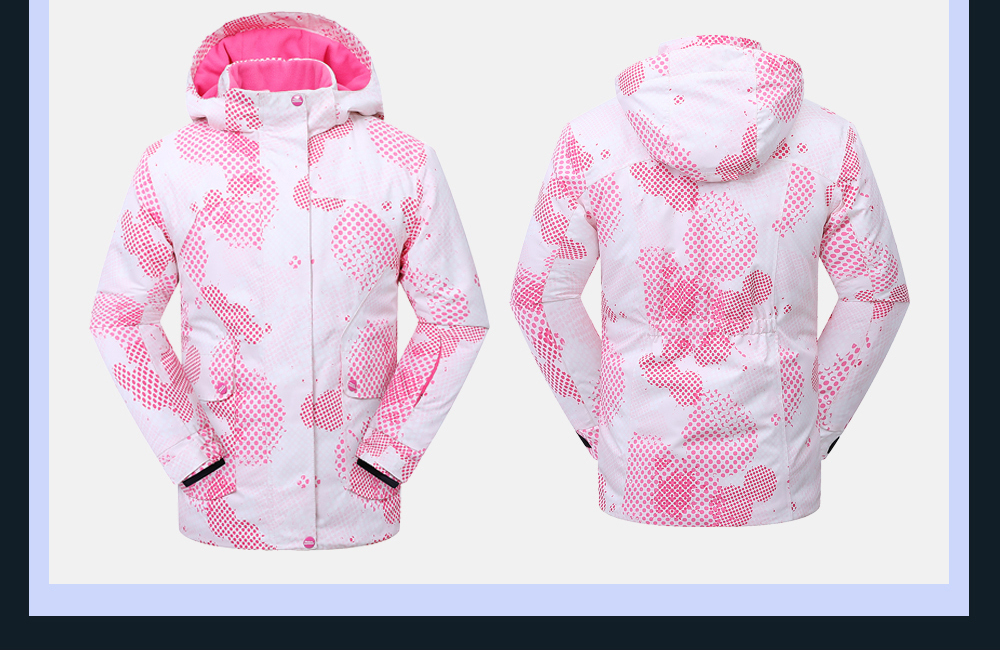 womens winter ski jacket
