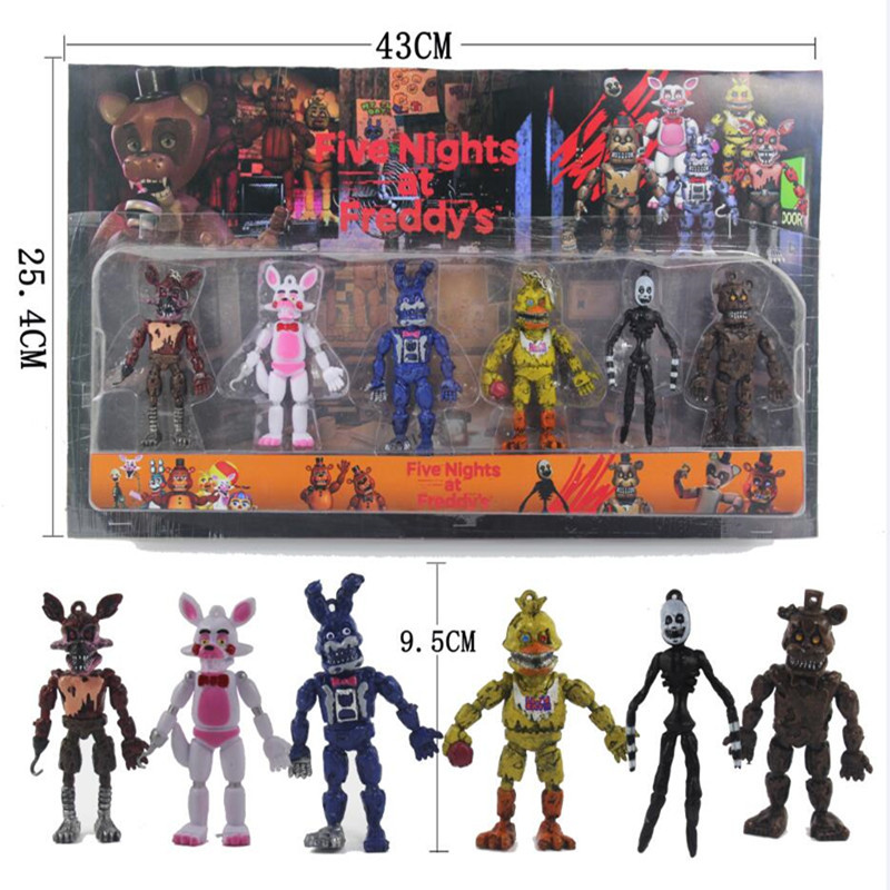 6-pcs-set-Five-Nights-At-Freddy-s-Action-Figure-Toy-FNAF-Bonnie-Foxy-Freddy-Fazbear