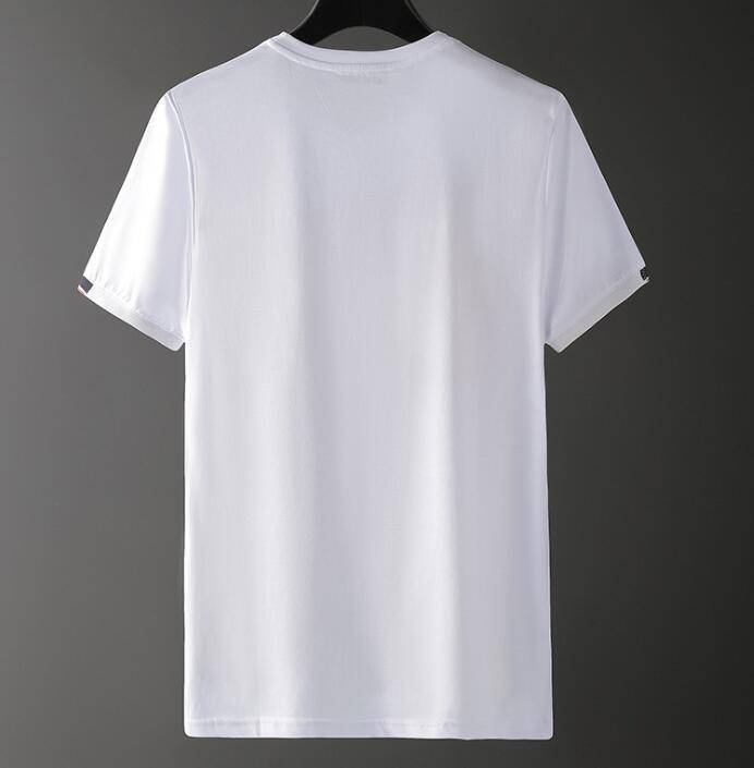 Brand Designer Men T Shirt New High Quality Summer Cotton Short Sleeve Mens Designer Letter Print Tees