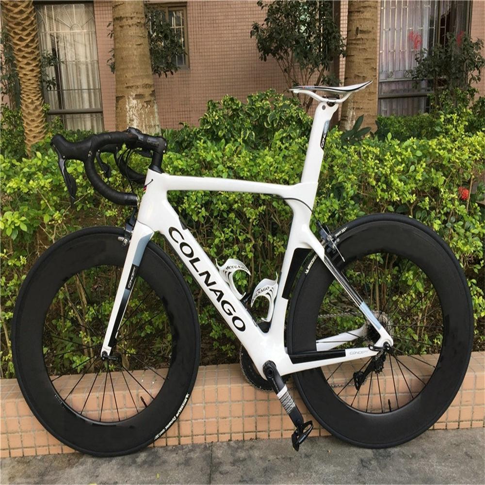 White Colnago CONCEPT Carbon Complete Road Bike