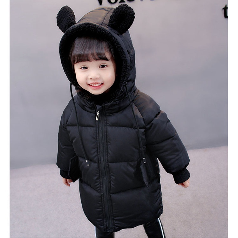 COOTELILI Winter Jackets For Girls Boys Winter Overalls For Girls Warm Coat Baby Boy Clothes Children Clothing 80-130cm (5)