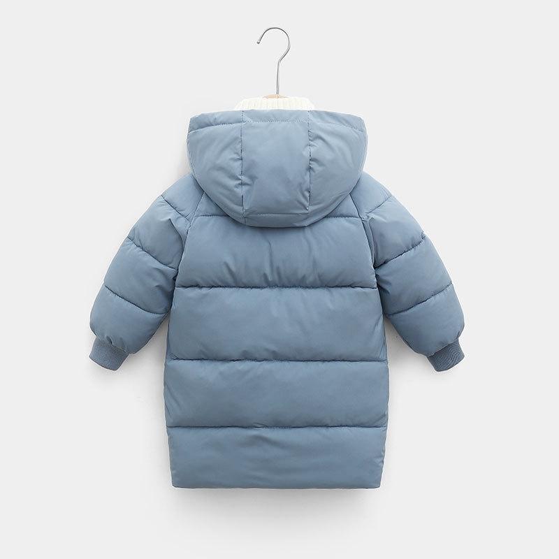 CROAL CHERIE Warm Long Jacket Coat Baby Girls Boys Parka Kids Jacket Hood Winter Children Jacket Winter Fall Toddler Outerwear (9)