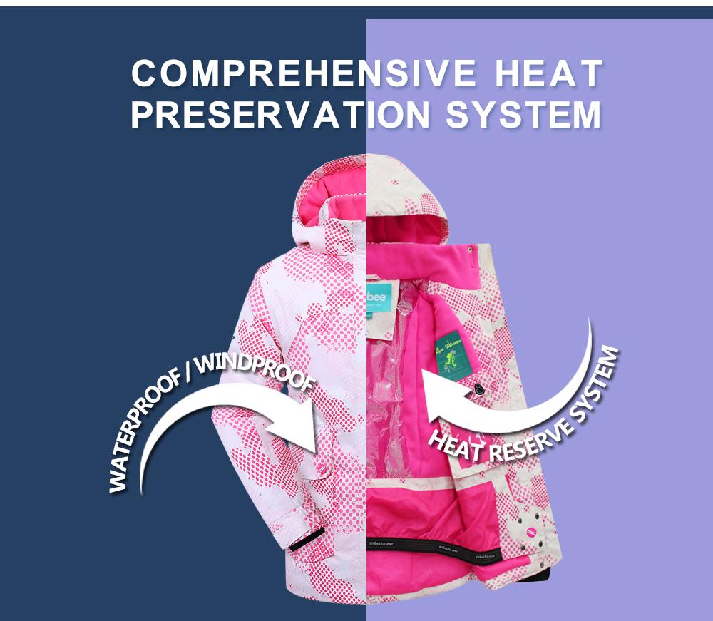 ski jacket women waterproof