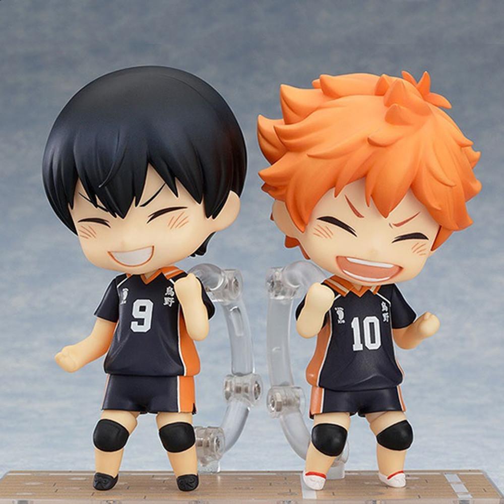 Haikyu Anime Figures Hinata Shoyo #461 Kageyama Tobio #489 Action Figures Cute Toys Collector Brinquedos Sport Doll Figurine Toy
