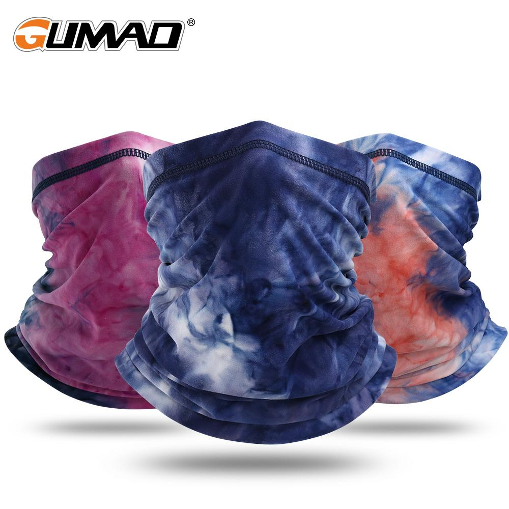 Tube Scarf Tie-dye Printed Bandana Neck Warmer Gaiter Snowboard Ski Cycling Sports Running Hiking Face Cover Half Mask Women Men jllFZQ
