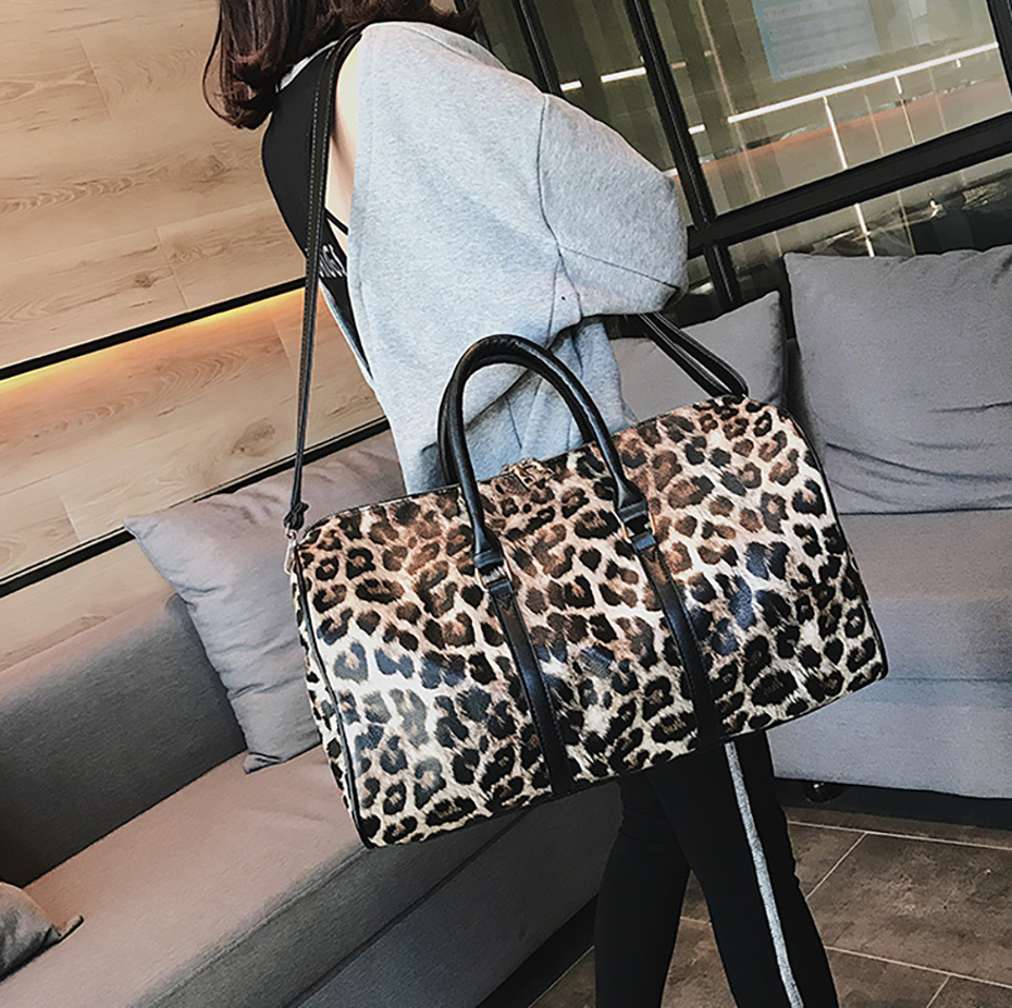 Gym Bag Leather Sports Bags Big Men Women Training Handbag Shoes Lady Fitness Yoga Travel Luggage Shoulder Black Sac De Sport08