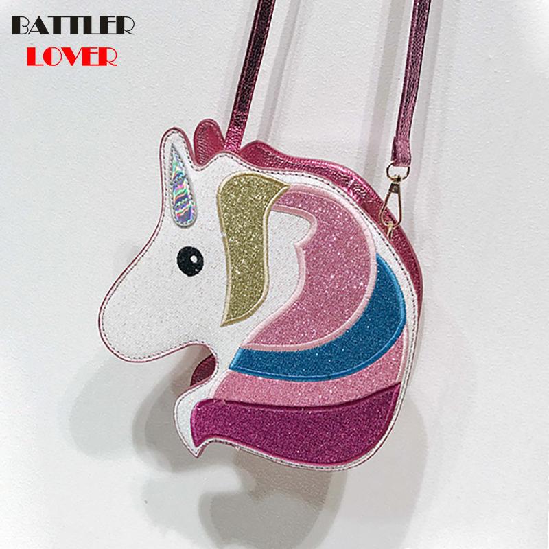 Unicorn Horse Shape Womens Bags Handbags Crossbody Bags Girls Shoulder Messenger Bag Mujer Casual Handbag for Women