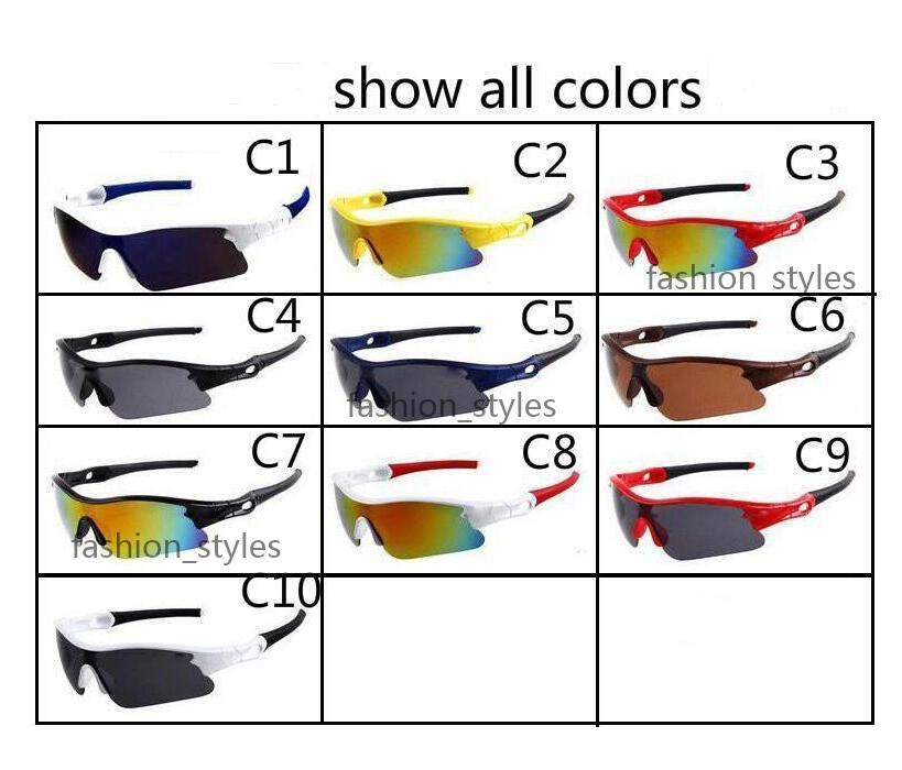 Designer Sunglasses Men and Women Outdoor Sport Dazzle Color Square Glasses Eyewear Cool Sun Glass Mens Sunglasses 10 Colors