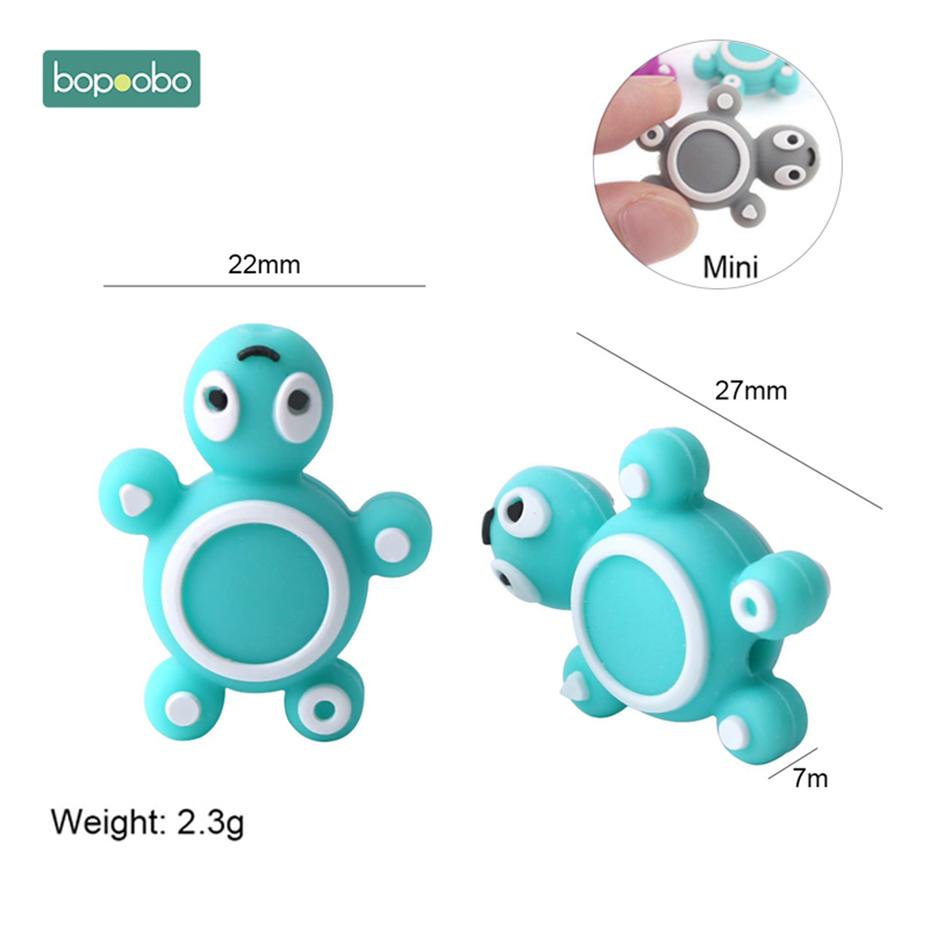 Morsure-Morsures-3-pc-Silicone-Perles-B-b-de-Dentition-Mini-Tortue-de-Qualit-Alimentaire-Silicone