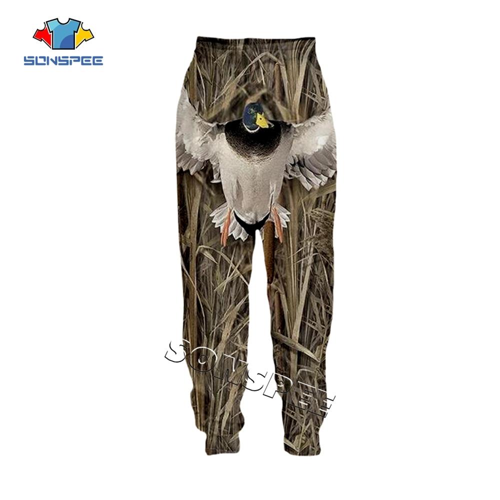 SONSPEE Animal Hunting Hunter 3D Print Harajuku Men Sweatpants Novelty Streetwear Women Fashion Casual Trousers Unisex Long Pant (10)