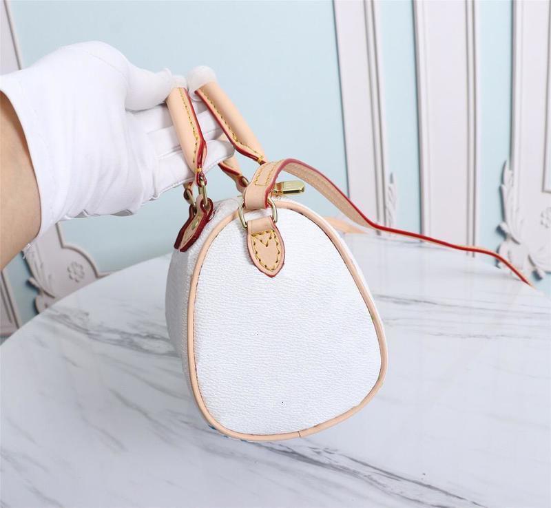 High Quality Luxurys Designers Bags Purse Woman Fashion Crossbody Bag M61252Shoulder Bags Mini Nano Speedy Chain Bag With Dust Bag
