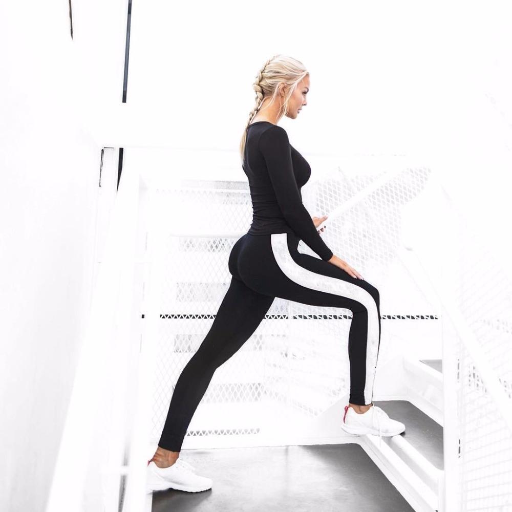 women-legging-knee-length-New-Fashion-Leggings-Women-High-Waist-Patchwork-Leggings-Damen-Knitted-Fitness-Black (1)