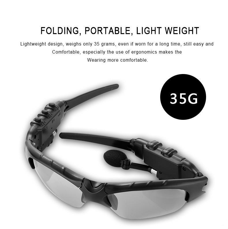 Smart Glasses Bluetooth V4.1 Sunglass Handsfree Sun Glass Sports Headset MP3 Player Bluetooth Phone Wireless Earphones Bluetooth Eyeglasses