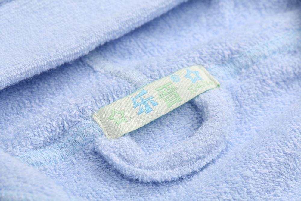 Children Bathrobe Lignt Blue (2)