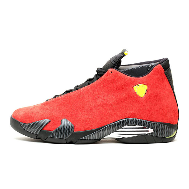 Top quality 14 14s Men Basketball Shoes thunder black toe University Red Varsity Royal Red candy cane Mens 2019 Trainers Sports shoes