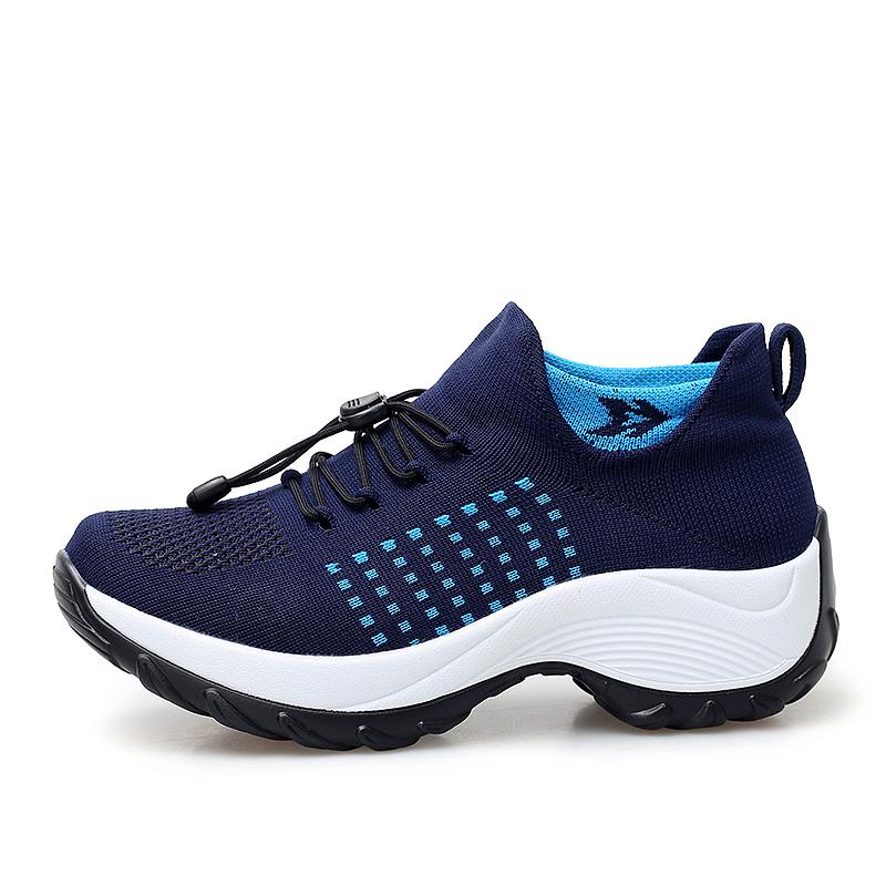 mesh breathable women casual shoes korean platform ladies comfortable sneakers high increasing female moccasins vulcanized woman (29)