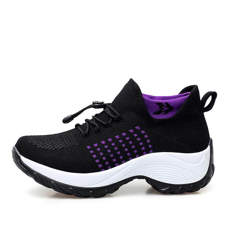 mesh breathable women casual shoes korean platform ladies comfortable sneakers high increasing female moccasins vulcanized woman (23)