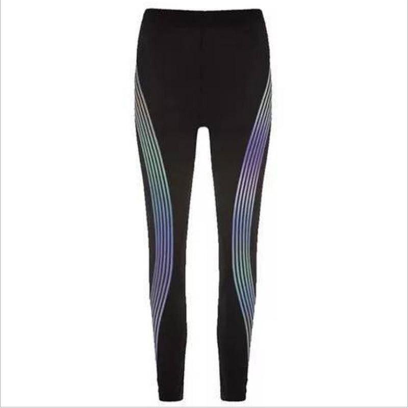 Reflective Yoga Pants Sport Black Womens Designer Trousers All The Season Gym Running Jogging Leggings Womens Long Sweatpants