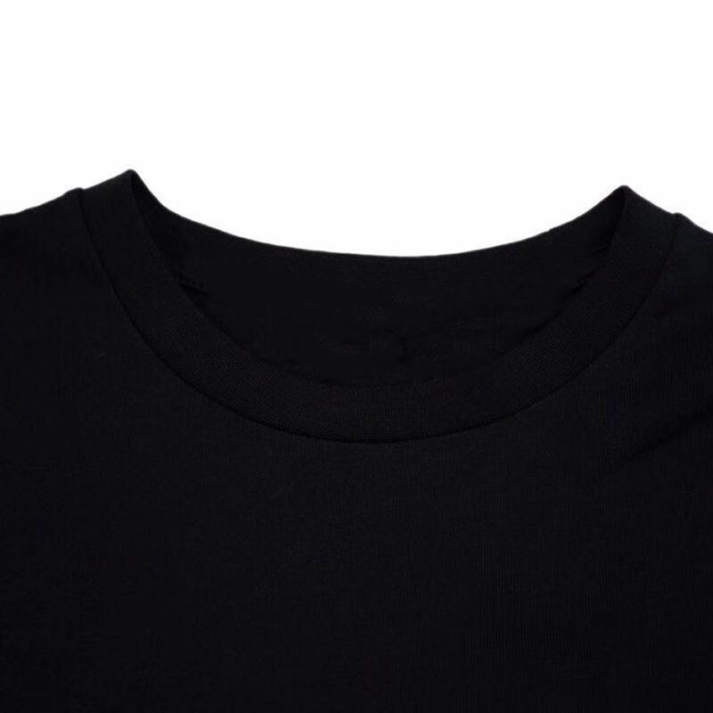 Summer Stylist T Shirts For Men Tops Letter Print T Shirt Mens Women Clothing Short Sleeved Tshirt Men Tees Black White