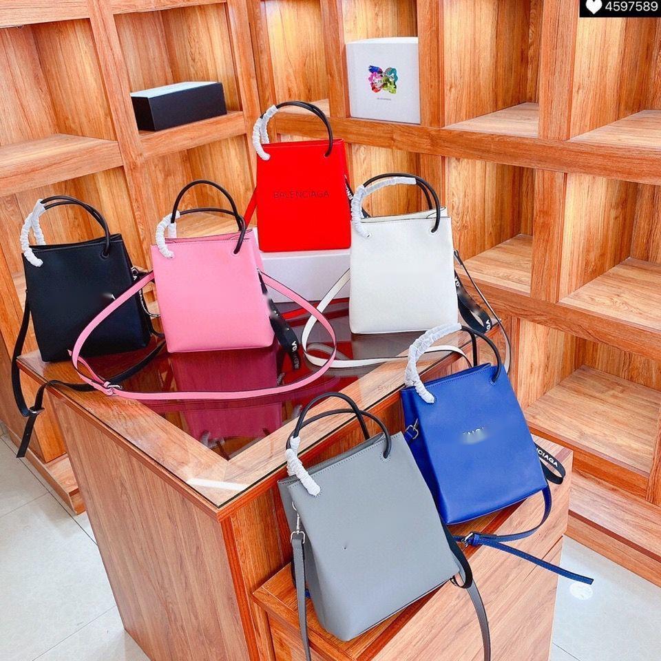 Designer handbags Balencaiga 2020 latest fashion bag women's 6 colors can choose large capacity single shoulder slung net red same model star same model