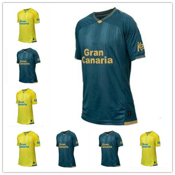 21 22 Maillots de foot UD Las Palmas Soccer Jerseys 2021 2022 Home ROBER Á. Lemos Araujo RODRYGO Short sleeve football shirt CASTRO custom uniforms