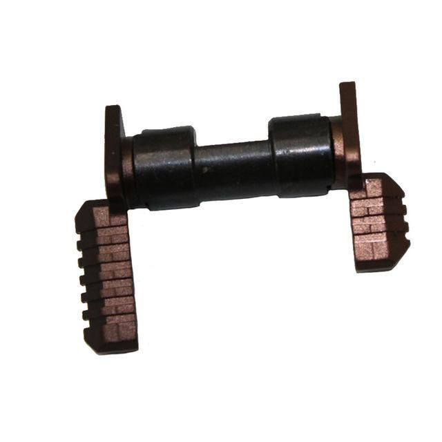 Tactical .223 5.56 ambidextrous safety selector switch Mil-Spec Steel for AR15 pistol rifle accessories