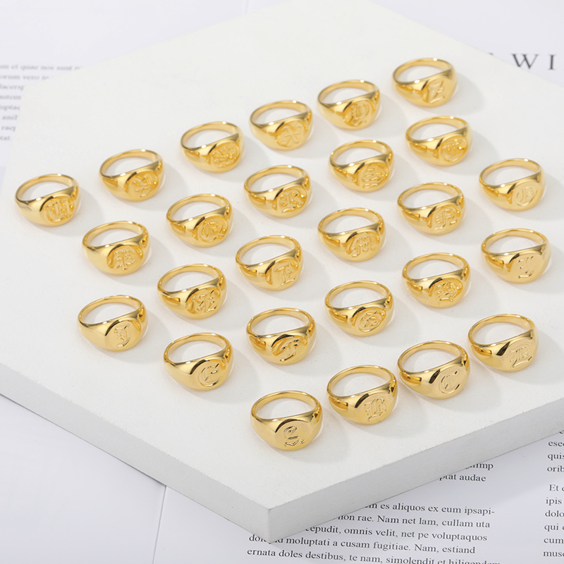 Minimalist-Initials-Signet-Ring-for-Men-Stainless-Steel-A-Z-Old-English-Letters-Nameplate-Rings-Gold