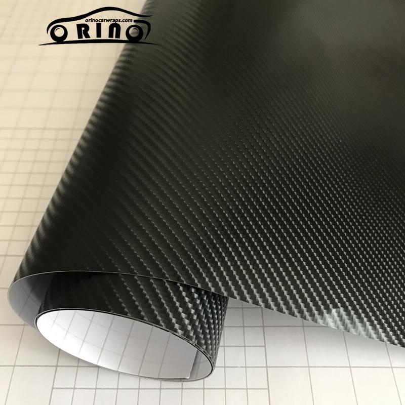 4D Black Carbon Fiber Vinyl Film-3