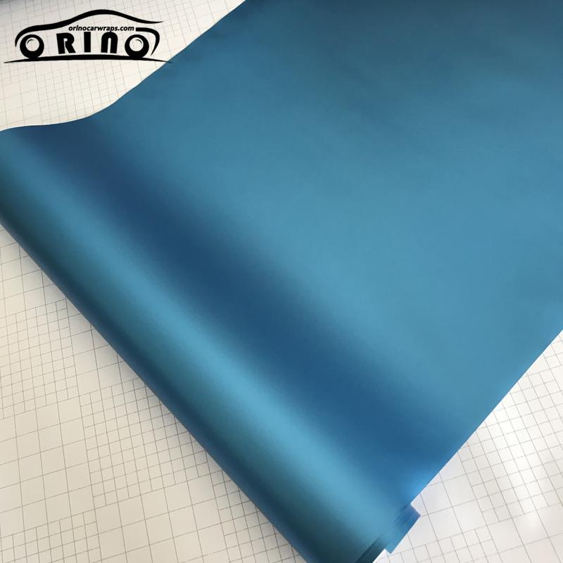 Light Blue Metallic Vinyl Film Wrap-1