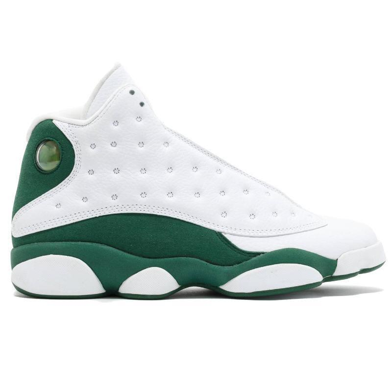 New 13 Flint Bred Chicago Lucky Green Aurora Green Playground Men Basketball Shoes 13s Reverse He Got Game Melo DMP Sneakers With Box