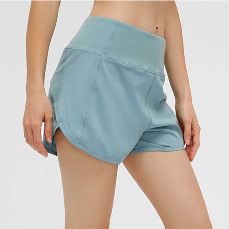 L-189 loose yoga shorts pocket Zipper quick dry gym sports biker short women underwear high quality fashion style summer hot pants with