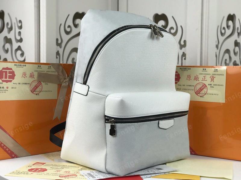 DISCOVERY BACKPACK PM Men Women Designer Original Cow Leather Eclipse Canvas Satchel Shoulder Bag Purse M30230 M43186 M30229