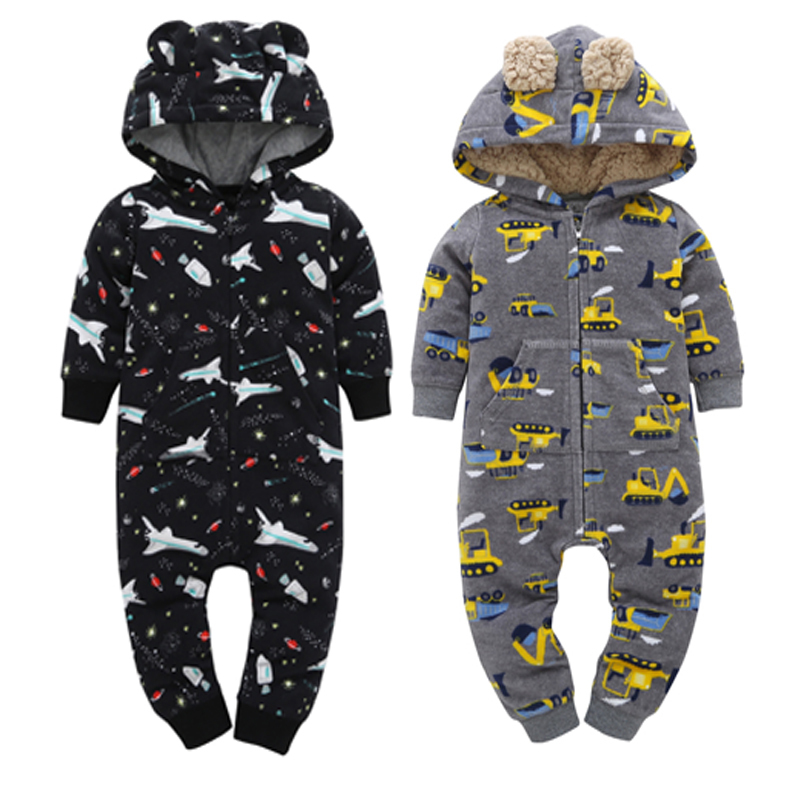 baby girl clothe newborn Baby Rompers Fleece clothing Baby boy Clothes 6M- 24M baby set Infant Jumpsuits bebes