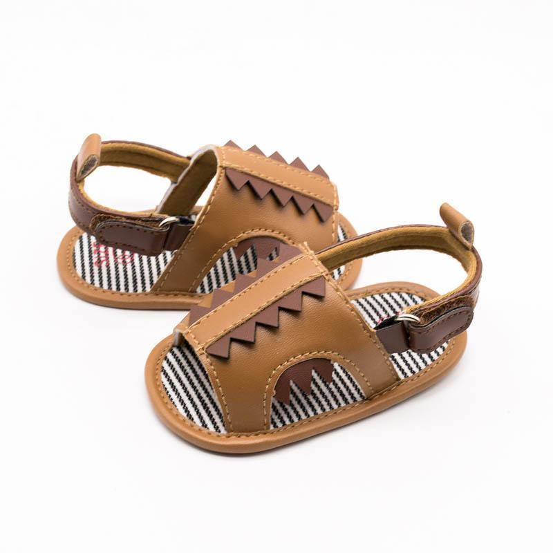 0-1t cute Cartoon baby shoes Summer toddler boy shoes infant shoes baby boys sandals Moccasins Soft First Walking Shoe Newborn sandals A5484