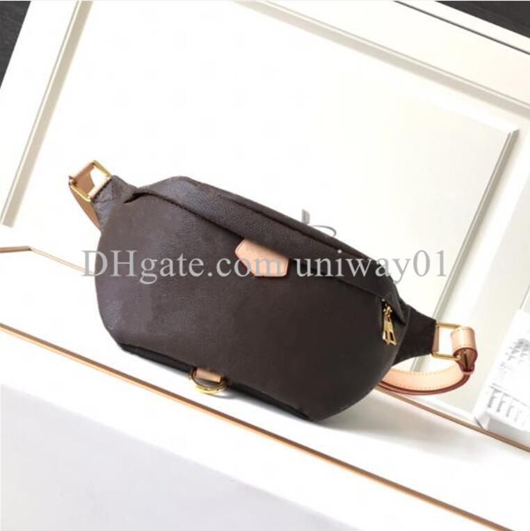 woman waist bag chest handbag men purse flower serial number fashion high quality bags handbags