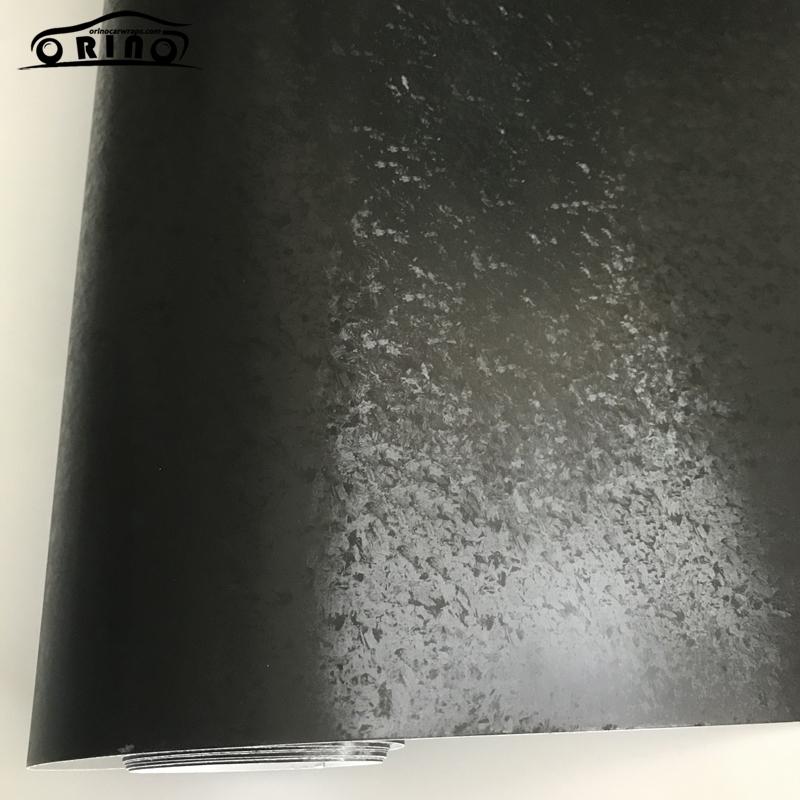 Titanium Steel Black Vinyl Wrap Sticker-3