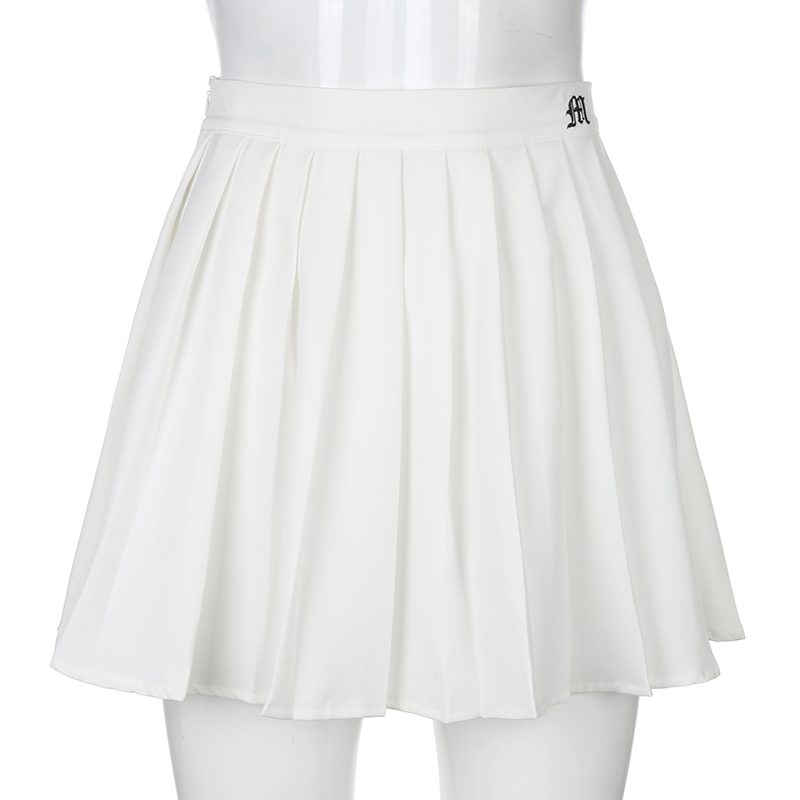 White Embroidery Skirt (3)