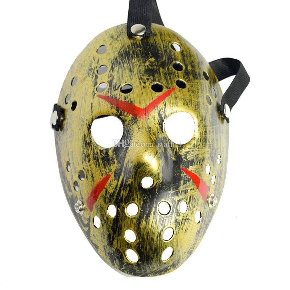 Masquerade Masks Jason Voorhees Friday the 13th Horror Movie Hockey Mask Scary Halloween Costume Cosplay Festival Party Mask NEW WX9-75