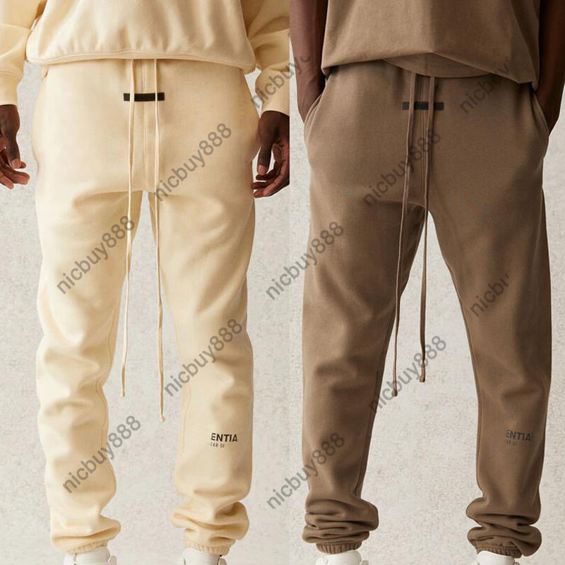 21SS Mens Reflective Sweatpants Casual Long Fleeced Sweat Pants Joggers Trousers Tracksuits Men Women Hip Hop Skateboard Streetwear MG210063