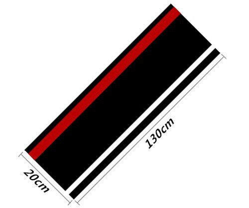 Car HoodTail vinyl decal sticker car body decorative sticker car styling for Ford Focus 2,3 VW Polo Golf 6,7 KIA K3 K5 308 (1)