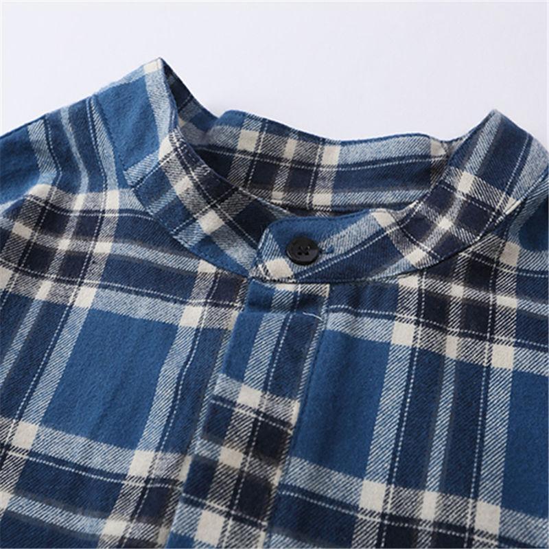 Famous Mens Shirt 2021 Fashion Stylist High Quality Plaid Shirts Men Women Couples Short Sleeve Shirt