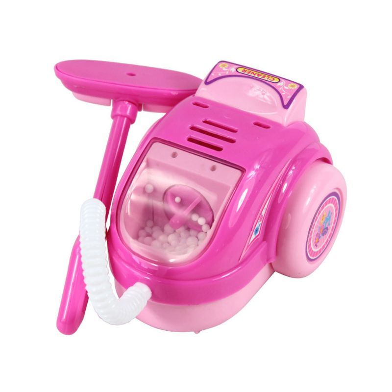 Children Kid Mini Kitchen Electrical Appliance Vaccum Cleaner Toy Set Early Education Dummy Household Pretended Play House Gift