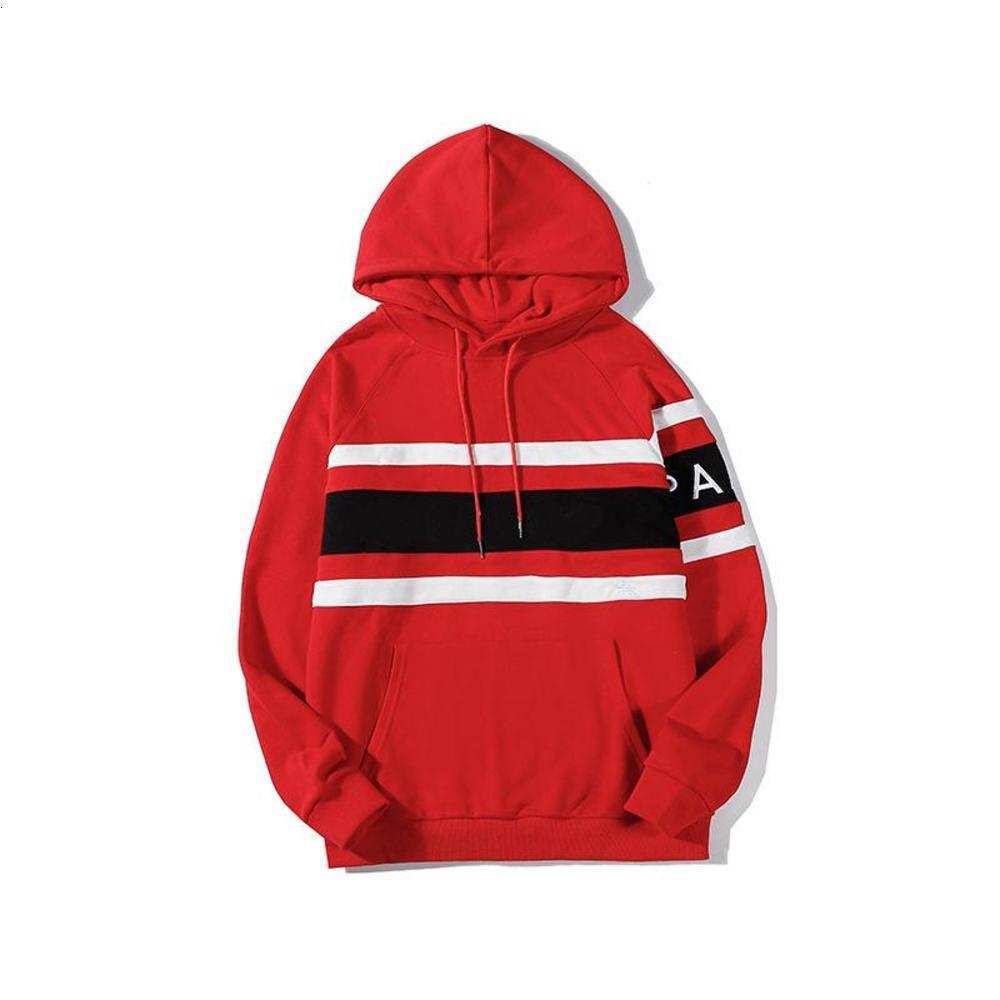 Fashion Vintage Men Women Hoodie Sweatshirt 2020 Mens Womens Autumn Winter Color Block Hoodies Sweatshirts 20ss High Quality Hooded Pullover